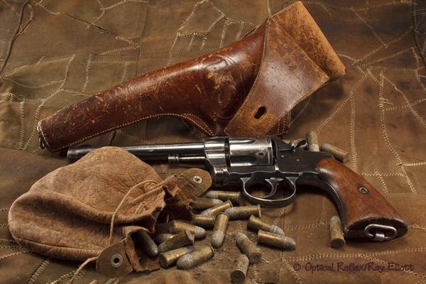 Revolver and ammo