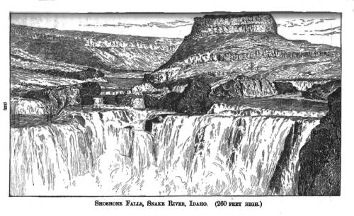 Shoshone falls idaho blog
