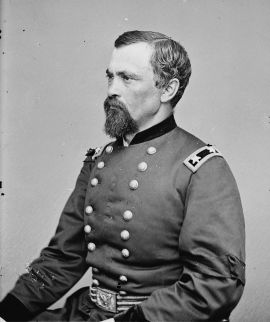 General August Kautz, photographer, Mathew Brady.  Source: Library of Congress Prints and Photographs Division